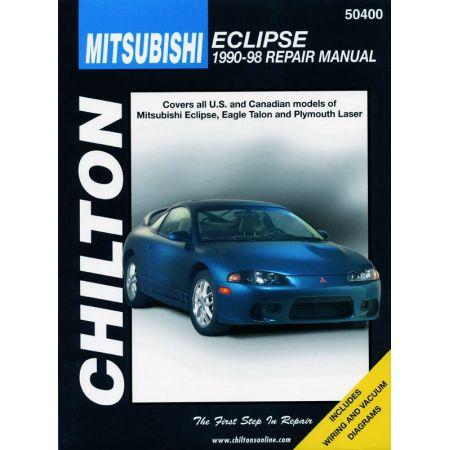 Eclipse Laser 90-98 Revue Technique Haynes Chilton MITSUBISHI Anglais
