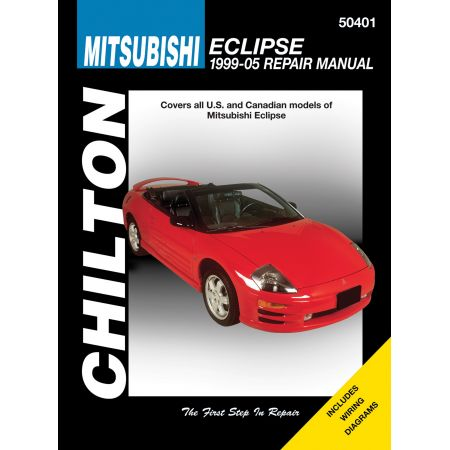 Eclipse 99-05 Revue technique Haynes Chilton MITSUBISHI Anglais