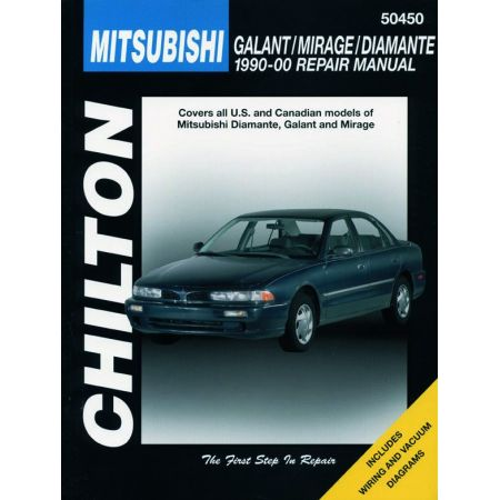 Galant Mirage Diamante 90-00 Revue technique Haynes Chilton MITSUBISHI Anglais