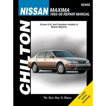 Maxima 93-08 Revue Technique Haynes Chilton NISSAN Anglais