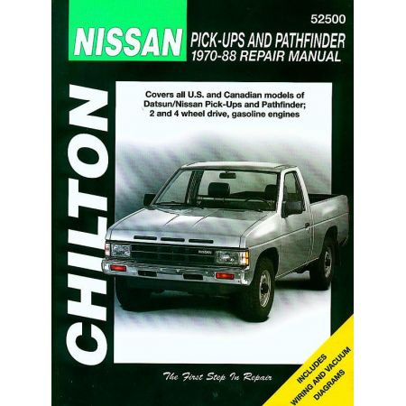 Pathfinder 70-88 Revue technique Haynes Chilton NISSAN Anglais