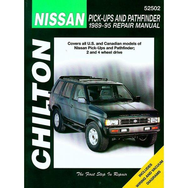 nissan pick ups pathfinder 1989 1995 rthc52502 revue technique haynes chilton anglais. Black Bedroom Furniture Sets. Home Design Ideas