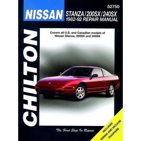 Stanza 200SX 240SX 82-92 Revue technique Haynes Chilton NISSAN Anglais