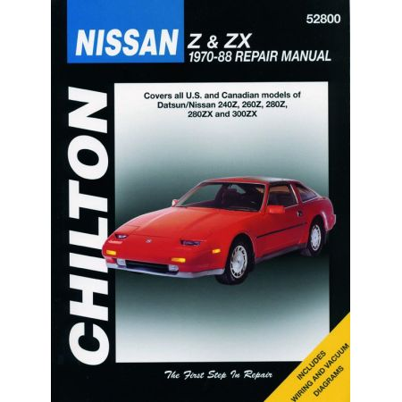 240Z 260Z 280Z 280ZX 300ZX 70-88 Revue technique Haynes Chilton NISSAN Anglais