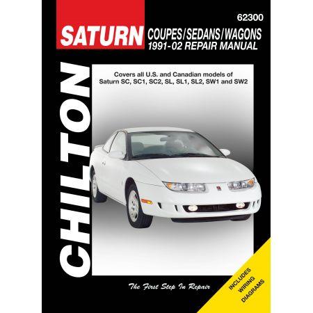 SC SC1 SC2 SW1 SW2 91-02 Revue technique Haynes Chilton SATURN Anglais