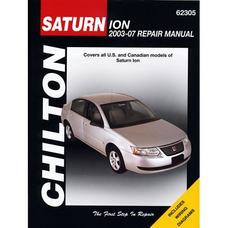 Ion 03-07 Revue technique Haynes Chilton SATURN Anglais