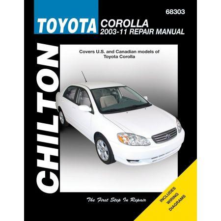 Corolla 03-11 Revue Technique Haynes Chilton TOYOTA Anglais