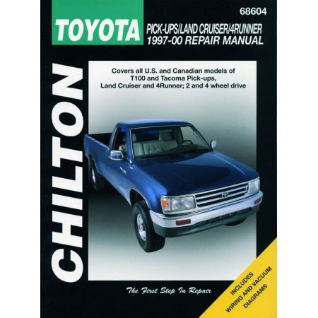 T100 Tacoma Land Cruiser 4Runner 97-00 Revue Technique Haynes Chilton TOYOTA Anglais