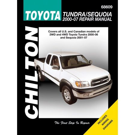 Tundra 00-06 Sequoia for 01-07 Revue technique Haynes Chilton TOYOTA Anglais