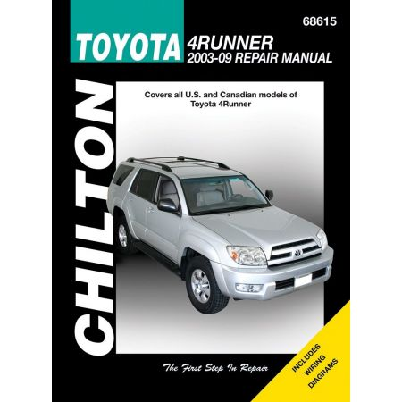 4Runner 03-09 Revue technique Haynes Chilton TOYOTA Anglais