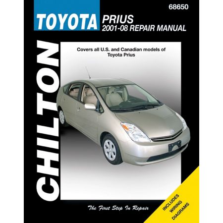 Prius 01-08 Revue technique Haynes Chilton TOYOTA Anglais