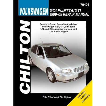 Golf Jetta GTI 99-05 Revue Technique Haynes Chilton VW Anglais