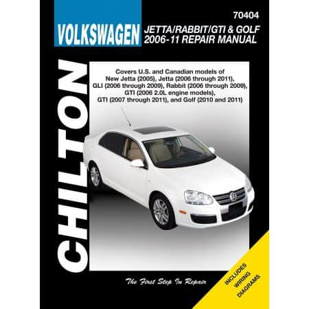 Jetta Rabbit GTI Golf 06-11 Revue Technique Haynes Chilton VW Anglais