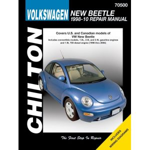 vw volkswagen new beetle 1998 2010 rthc70500 revue technique haynes chilton anglais. Black Bedroom Furniture Sets. Home Design Ideas
