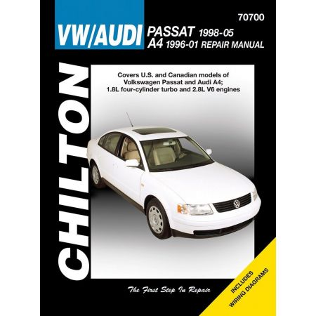 Passat 98-05 A4 96-01 Revue Technique Haynes Chilton VW AUDI Anglais