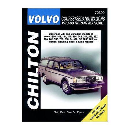 Coupes Sedans Wagons 70-89 Revue technique Haynes Chilton VOLVO Anglais