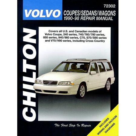 240 740 760 780 90-98 Revue Technique Haynes Chilton VOLVO Anglais