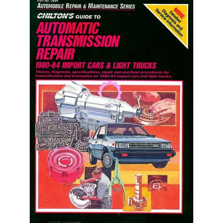 Automatic Transmission Repair 80-84 Revue Technique Haynes Chilton Anglais