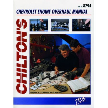 Engine Overhaul Revue technique Haynes chilton CHEVROLET Anglais