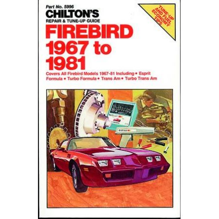 Firebird 67-81 Revue technique Haynes Chilton PONTIAC Anglais