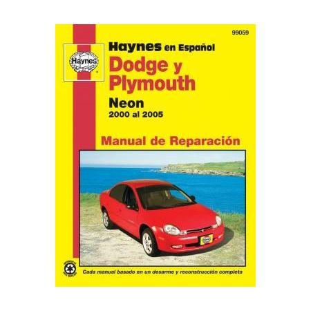 Neon 00-05 Revue technique Haynes DODGE Espagnol