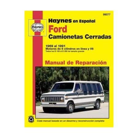 Camionetas Cerradas 69-91 Revue technique Haynes FORD Espagnol