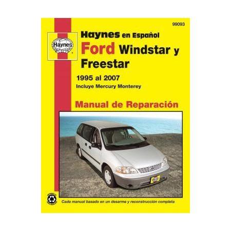 Windstar 95-03 Monterey 04-07 Revue technique Haynes FORD Espagnol
