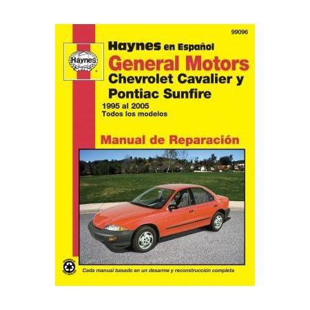 Cavalier Sunfire 95-05 Revue technique Haynes GM Espagnol