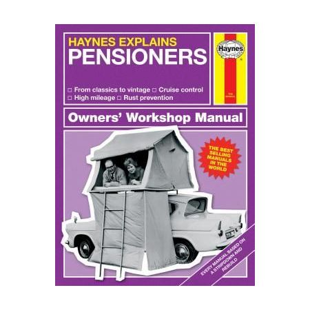 Explains Pensioners Revue technique Haynes Anglais
