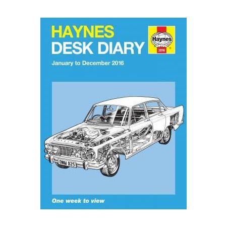 Desk Diary 2016 Revue technique Haynes Anglais