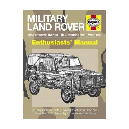 Military Land Rover Revue technique Haynes Anglais