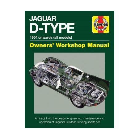 D-Type Revue technique Haynes JAGUAR Anglais