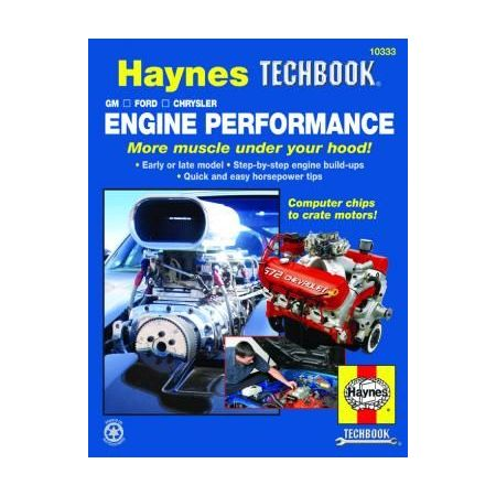 Engine Performance Revue technique Haynes GM Anglais