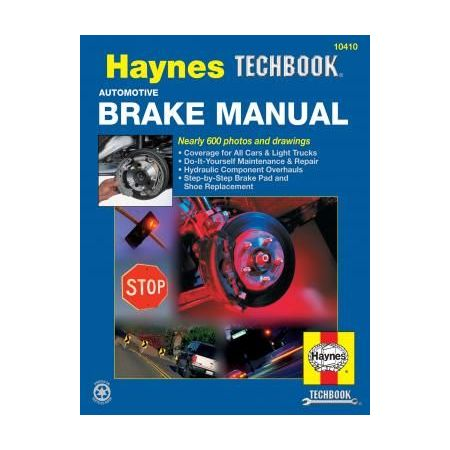 Automotive Brake Revue technique Haynes Anglais