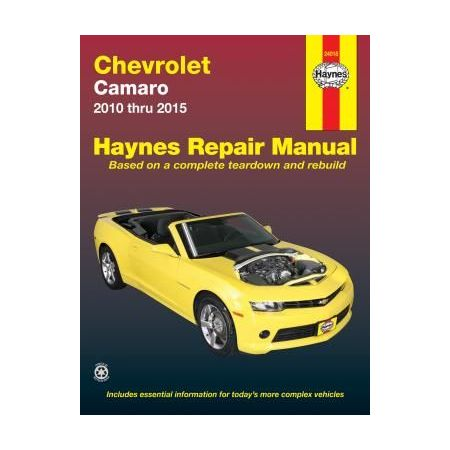 Camaro 10-15 Revue technique Haynes CHEVROLET Anglais