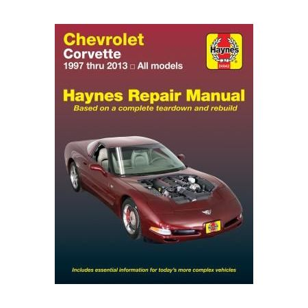 Corvette 97-13 Revue technique Haynes CHEVROLET Anglais