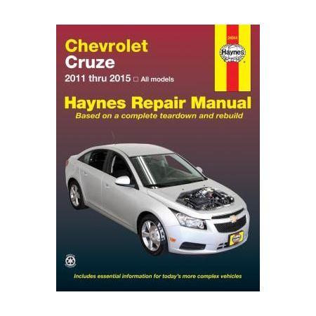 Cruze 11-15 Revue technique Haynes CHEVROLET Anglais