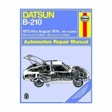 B-210 73-78 Revue technique Haynes DATSUN Anglais