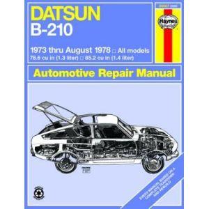 DATSUN B-210 1973-1978 RTH28007 - Revue Technique Haynes ...