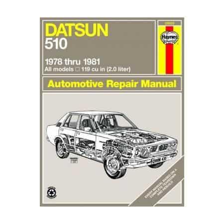 510 78-81 Revue technique Haynes DATSUN Anglais