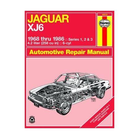 XJ6 68-86 Revue technique Haynes JAGUAR Anglais