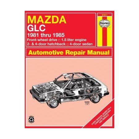 GLC FWD 81-85 Revue technique Haynes MAZDA Anglais