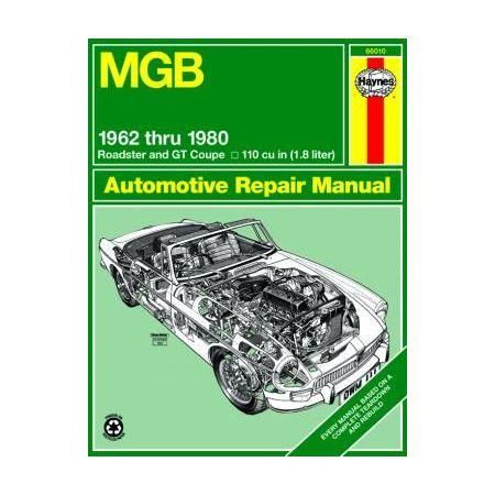 MGB (62-80 Revue technique Haynes MG Anglais