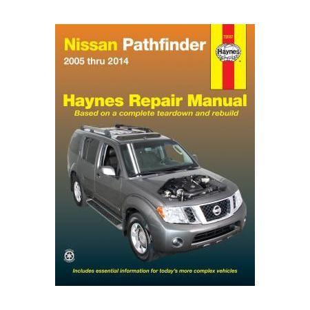 Pathfinder 05-14 Revue technique Haynes NISSAN Anglais