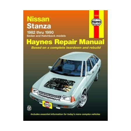 Stanza 82-90 Revue technique Haynes NISSAN Anglais