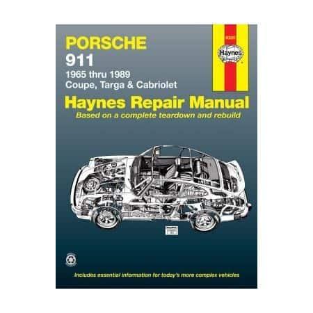 911 65-89 Revue technique Haynes PORSCHE Anglais