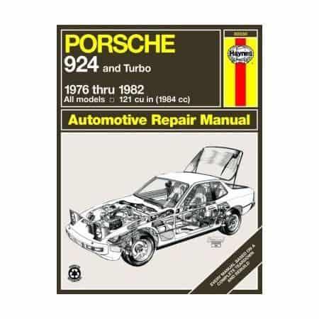 924 76-82 Revue technique Haynes PORSCHE Anglais