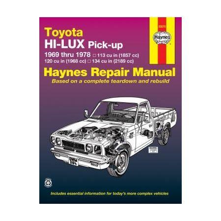 Hi-Lux & Hi-Ace 69-78 Revue technique Haynes TOYOTA Anglais