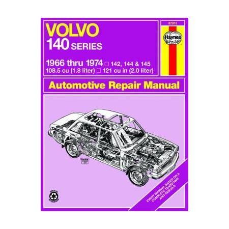140 Series 66-74 Revue technique Haynes VOLVO Anglais