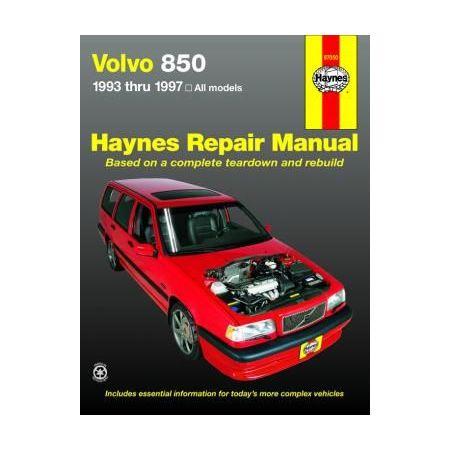 850 93-97 Revue technique Haynes VOLVO Anglais